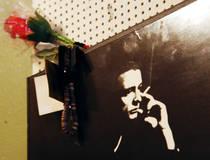 Erinnerung an Johnny Cash im Sun Studio in Memphis © Tennessee Tourism