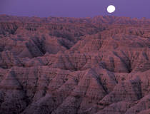 Badlands National Park, South Dakota.  © Christian Heeb